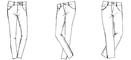 Jeansformen