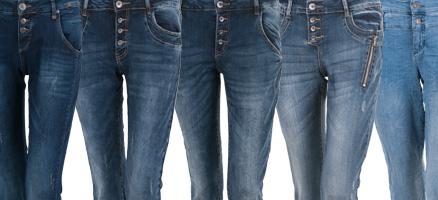 Jeansgeschichte und Veredelungen